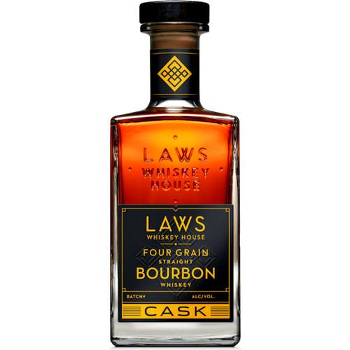 Laws Whiskey House Four Grain Cask Straight Bourbon Whiskey 750ml