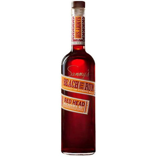 Sammy's Beach Bar Red Head Macadamia Nut Rum 750ml