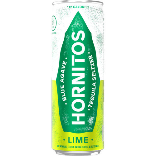 Hornitos Lime Tequila Seltzer Ready To Drink 12oz 4 Pack Cans