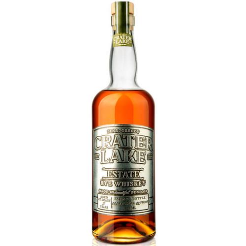Crater Lake Estate Rye Whiskey 750ml