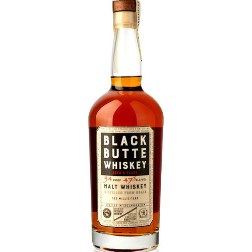 Black Butte 5 Year Old Malt Whiskey 750ml