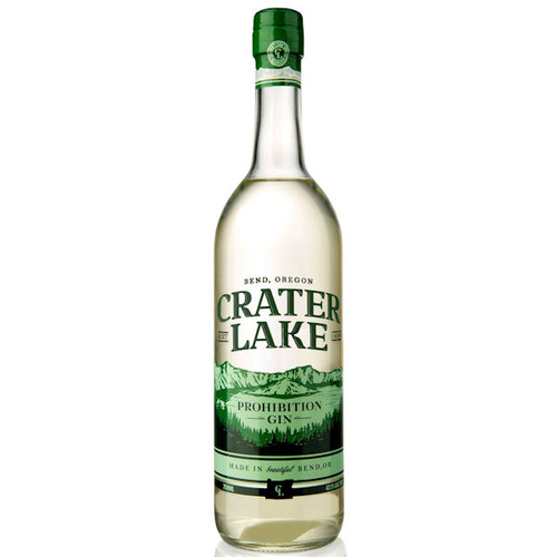 Crater Lake Prohibition Gin 750ml