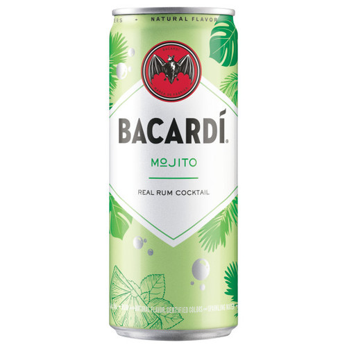 Bacardi Mojito Real Rum Ready To Drink Cocktail 355ml 4-Pack