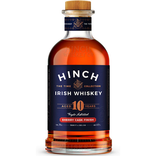 Hinch 10 Year Old Sherry Cask Finish Irish Whiskey 750ml