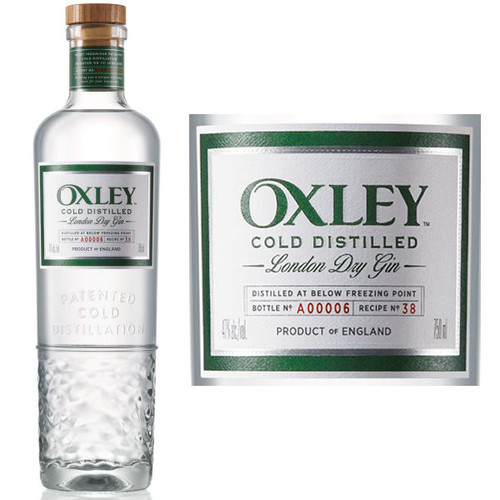 Oxley Cold Distilled London Dry Gin 750ml