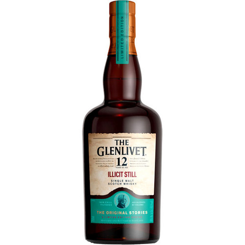 The Glenlivet 12 Year Old Illicit Still Speyside 750ml