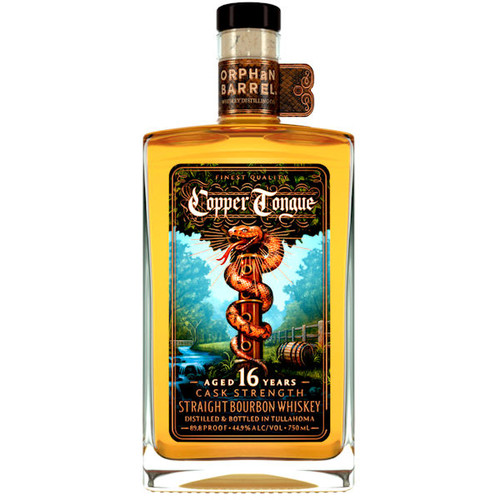 Orphan Barrel Copper Tongue 16-Year-Old Straight Bourbon Whiskey 750ml