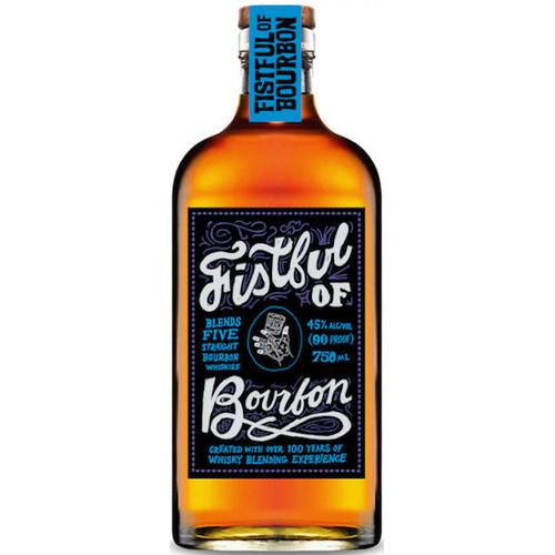 Fistful of Bourbon Five Blends Straight Bourbon Whiskey 750ml