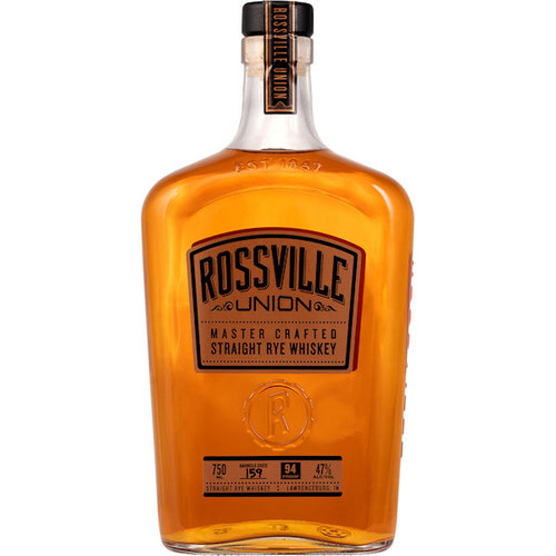Rossville Union Master Crafted Straight Rye Whiskey 750ml