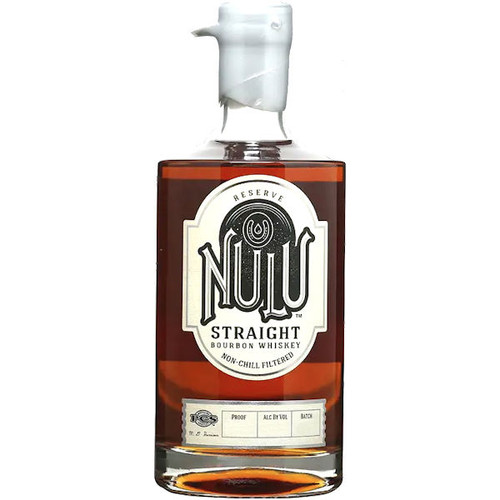 Nulu Reserve Straight Bourbon Whiskey 750ml