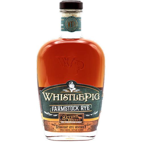 WhistlePig Farmstock Beyond Bonded Straight Rye Whiskey 750ml