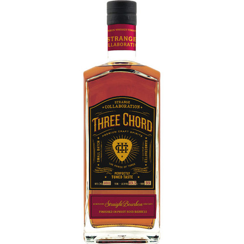 Three Chord by Neil Giraldo Strange Collaboration Kentucky Straight Bourbon Whiskey 750ml