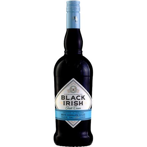 Black Irish By Mariah Carey White Chocolate Irish Cream Liqueur 750ml