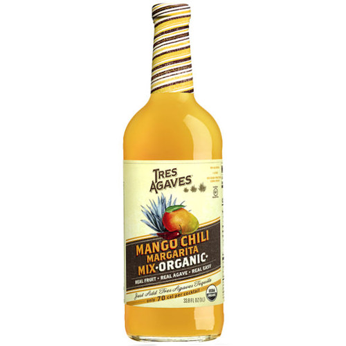 Tres Agaves Organic Mango Chili Margarita Mix 1L