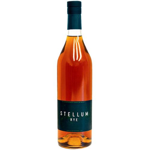 Stellum Sprirts Cask Strength Blend of Straight Rye Whiskey 750ml