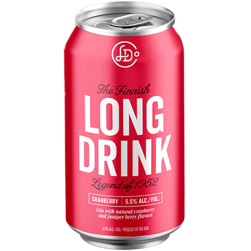 The Finnish Long Drink Cranberry Cocktail 12oz 6 Pack Cans