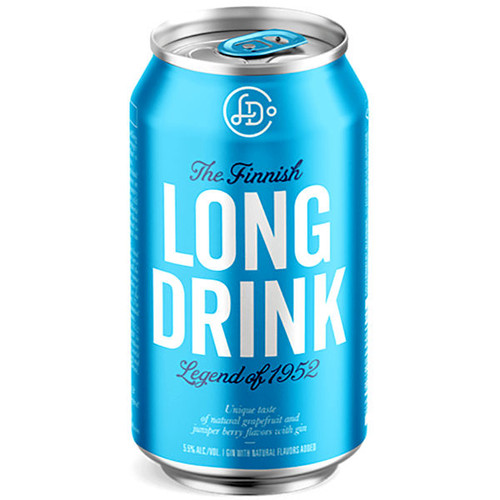 The Finnish Long Drink Traditional Cocktail 12oz 6 Pack Cans