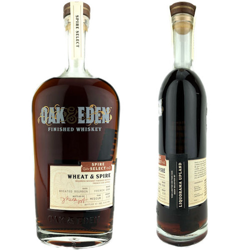 Oak & Eden Spire Select Wheat & Spire Barrel Proof French Oak Finished Whiskey 750ml