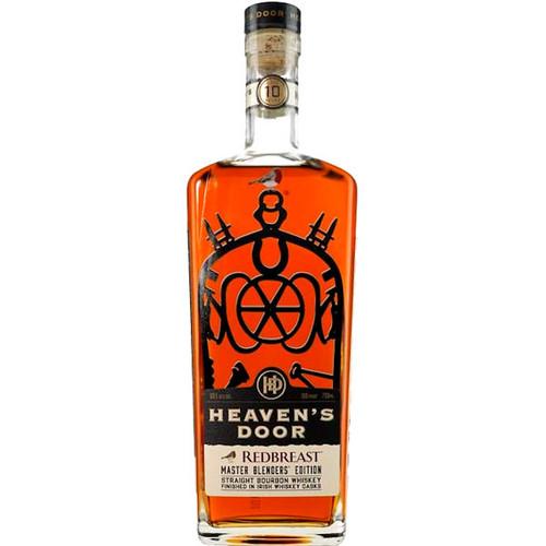 Heaven's Door Redbreast Master Blenders' Edition Straight Bourbon Whiskey 750ml