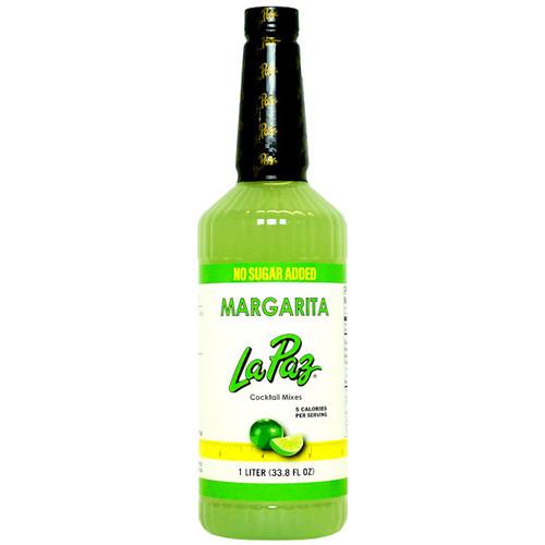 La Paz No Sugar Added Margarita Mix 1L