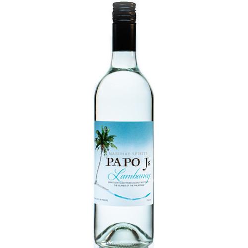 Papo J's Lambanog Philippine Vodka 750ml