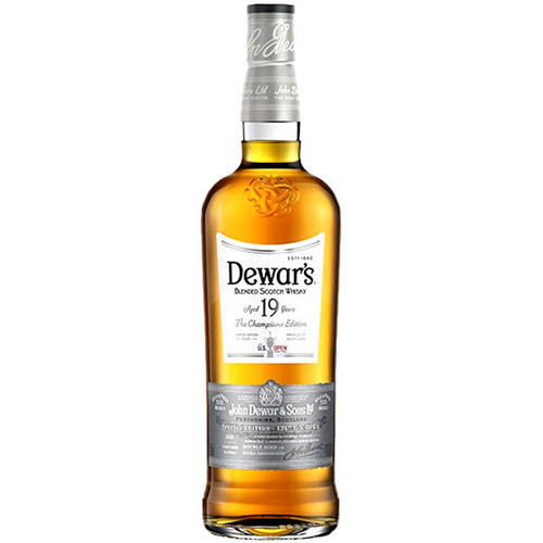 Dewar's 19 Year Old The Champions Edition US Open's 15 Year Old Blended Scotch Whisky 750ml