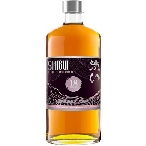 Shibui Single Grain 18 Year Old Sherry Cask Matured Japanese Whisky 750ml
