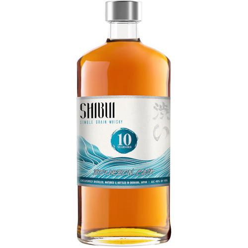 Shibui Single Grain 10 Year Old Bourbon Cask Matured Japanese Whisky 750ml