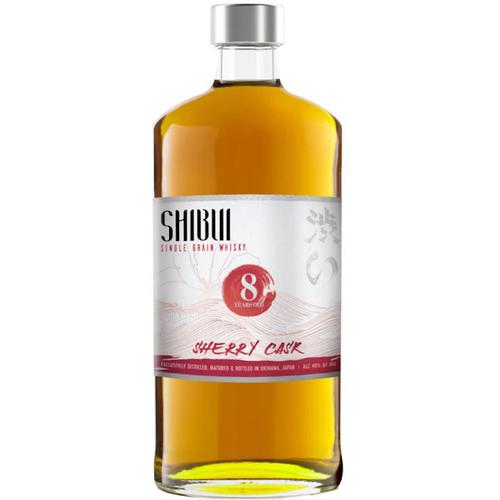 Shibui Single Grain 8 Year Old Sherry Cask Matured Japanese Whisky 750ml