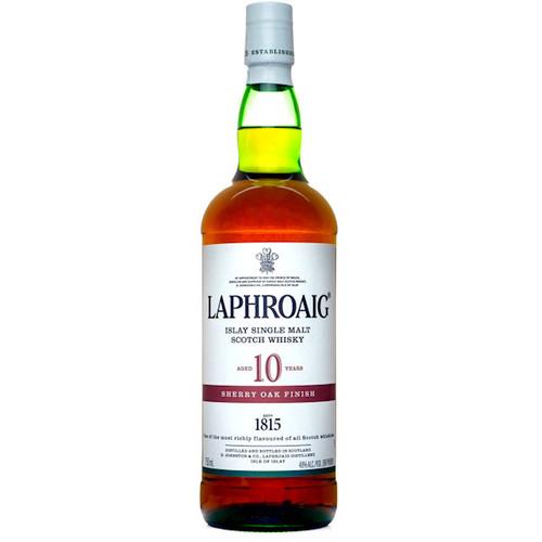 Laphroaig 10 Year Old Sherry Oak Finish Islay Single Malt Scotch 750ml