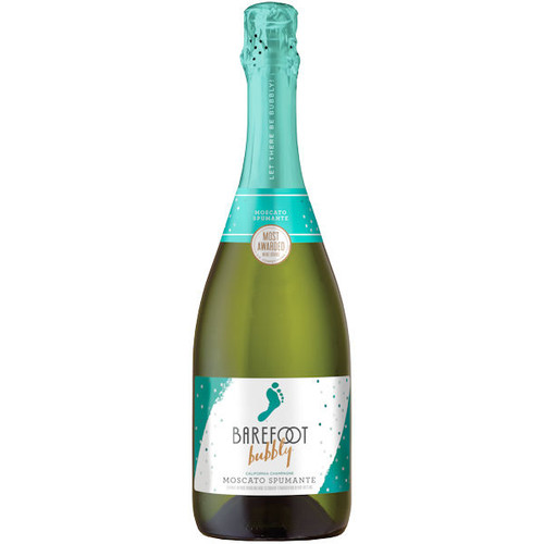 Barefoot Bubbly Sparkling Moscato Spumante NV