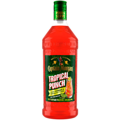 Captain Morgan Ready To Drink Tropical Punch Cocktail 1.75L