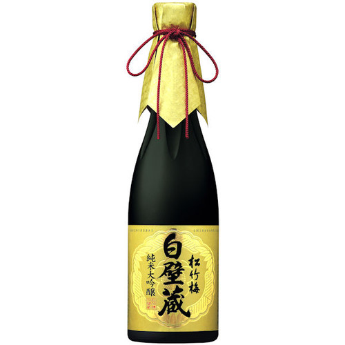 Sho Chiku Bai Shirakabegura Junmai Daiginjo Sake 640ml