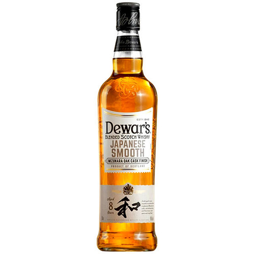 Dewar's Japanese Smooth 8 Year Old Mizunara Finished Blended Scotch Whisky 750ml