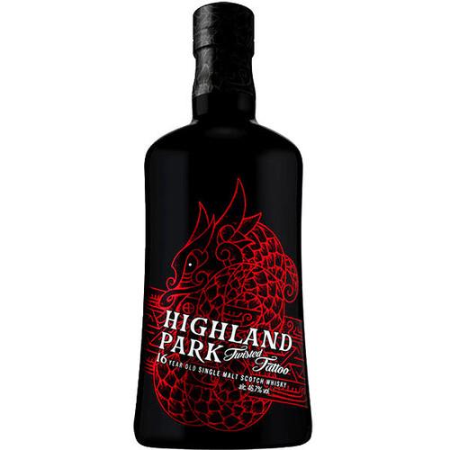 Highland Park Twisted Tattoo 16 Year Old Orkney Island Single Malt Scotch 750ml