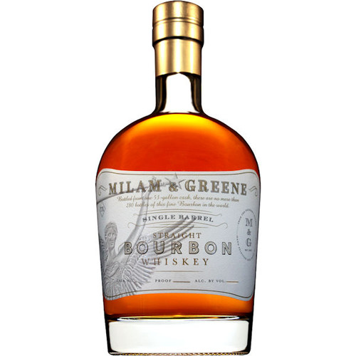 Milam & Greene Single Barrel Straight Bourbon Whiskey 750ml