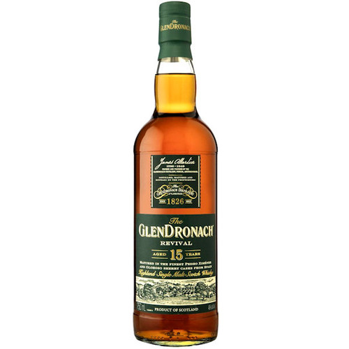 The GlenDronach Revival 15 Year Old Highland 750ml