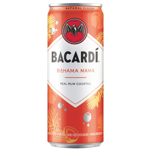 Bacardi Bahama Mama Rum Ready To Drink Cocktail 355ml 4-Pack