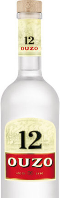 Ouzo 12 Liqueur Greece 750ml