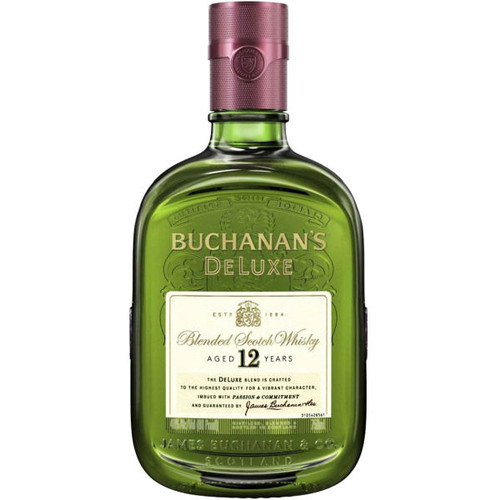 Buchanan's DeLuxe 12 Year Old Blended Scotch 750ML
