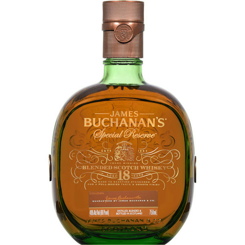 Buchanan's 18 Year Old Special Reserve Blended Scotch 750ML