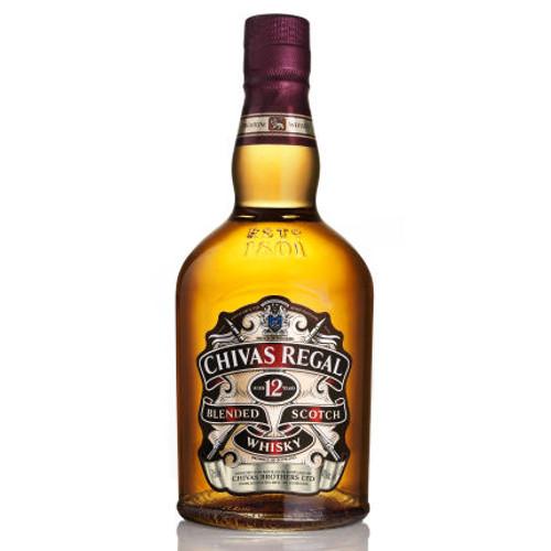 Chivas Regal 12 Year Old Blended Scotch 750ml