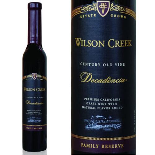 Wilson Creek Decadencia Chocolate Port 375ml