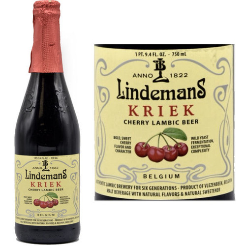 Lindemans Kriek Lambic (Belgium) 750ml