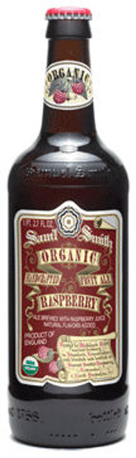 Samuel Smith Organic Raspberry Fruit Ale 550ml