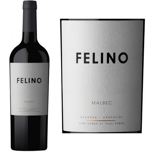 Vina Cobos Felino Malbec by Paul Hobbs (Argentina)