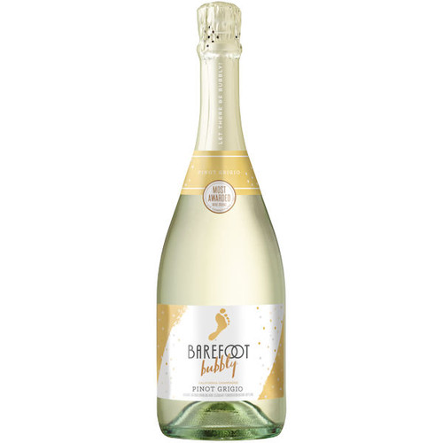 Barefoot Bubbly Sparkling Champagne Pinot Grigio NV