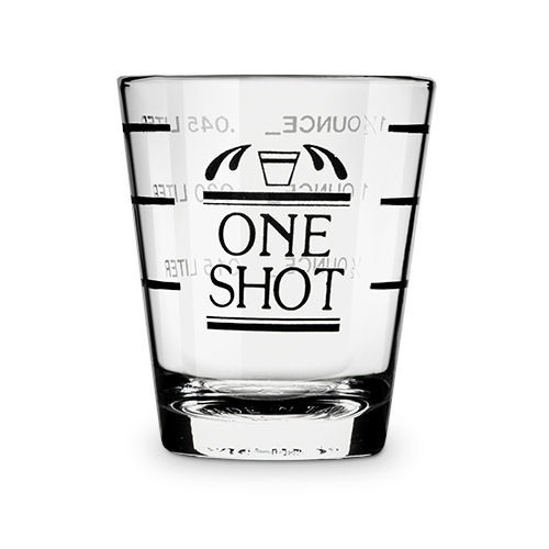 True Bullseye Measured Shot Glass