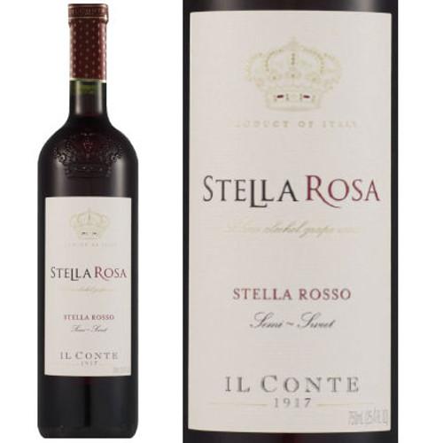 Il Conte d'Alba Stella Rosa Rosso NV