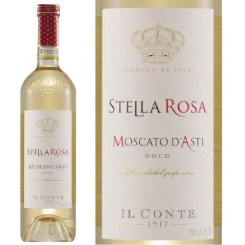 Il Conte d'Alba Stella Rosa Moscato D'Asti NV